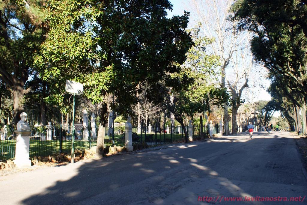 Вилла Медичи парк