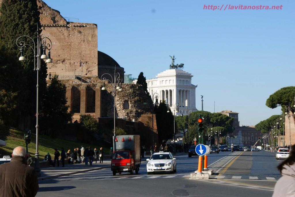 Рим в январе 9