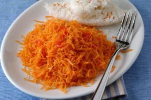 Моркоь с карри и тмином