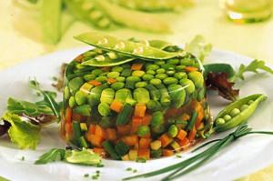 Заливное из овощей и фото