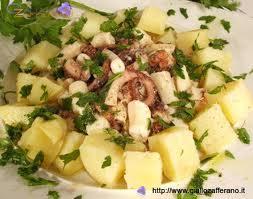 салат из осьминогов с картошкой