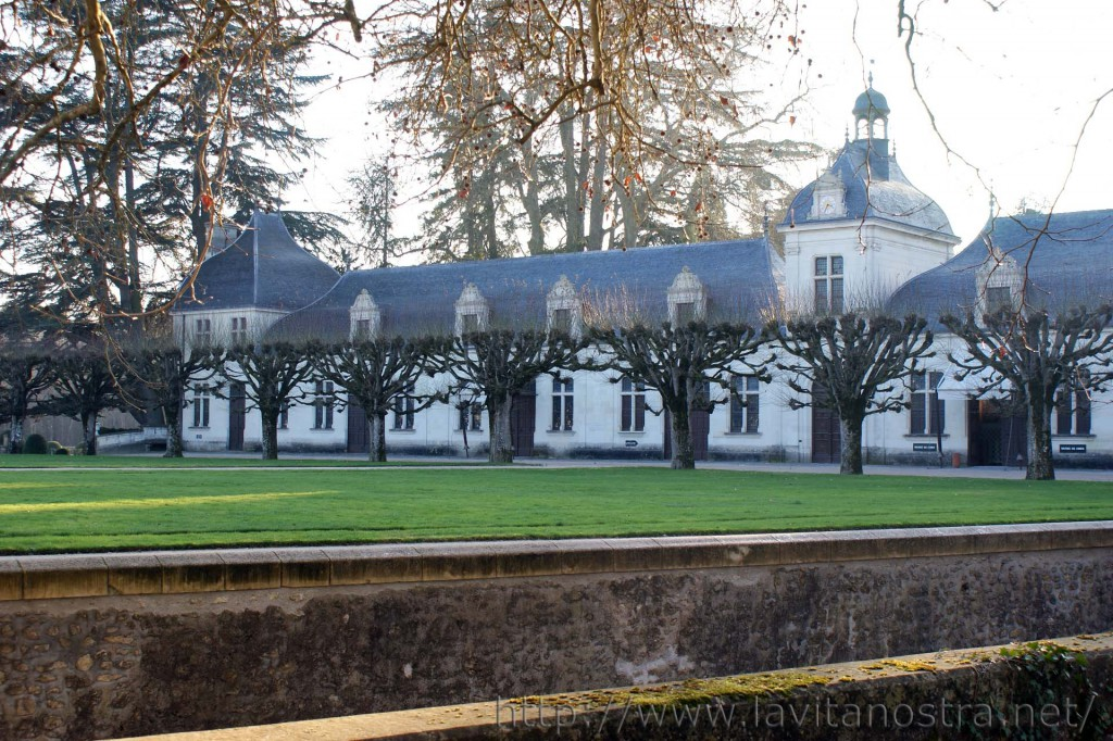 Замок Шенонсо Франция (помещения для прислуги)