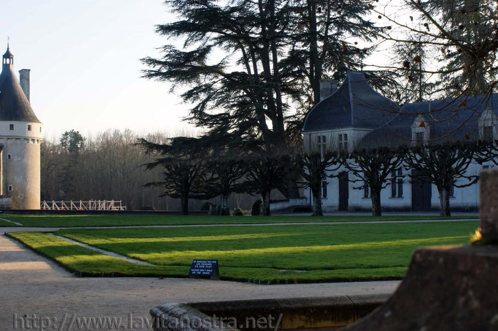 Замок Шенонсо Франция 5