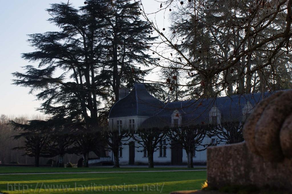 Замок Шенонсо Франция (Помещение для прислуги)