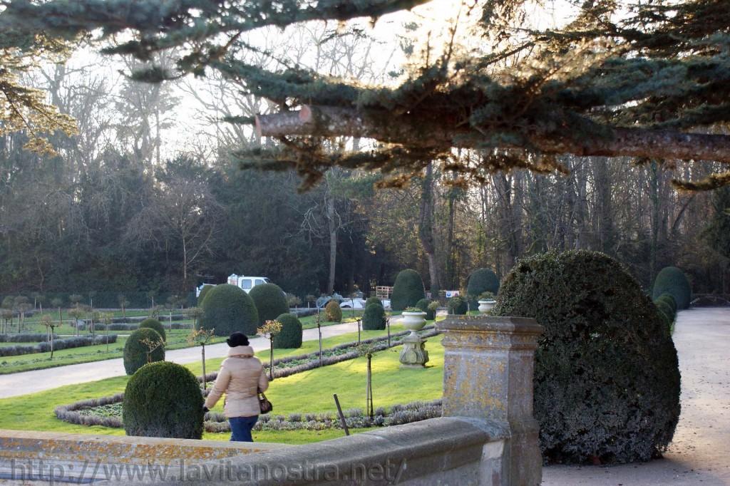 Замок Шенонсо парк Екатерины Медичи