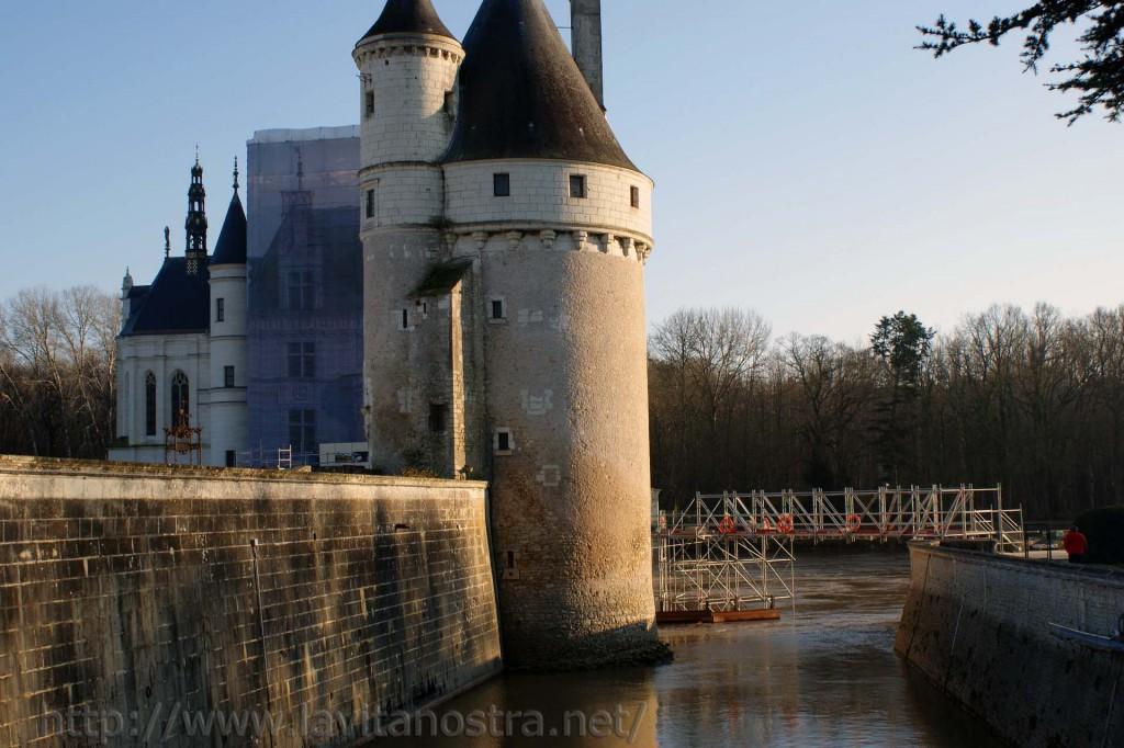 Замок Шенонсо Франция 6