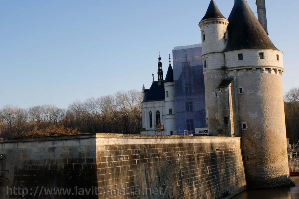 Замок Шенонсо Франция 7