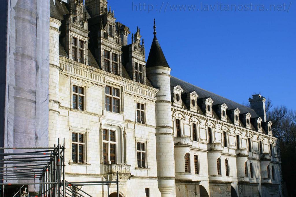 Замок Шенонсо Франция 9
