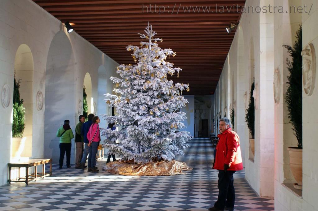 Приемная галерея в замке Шенонсо