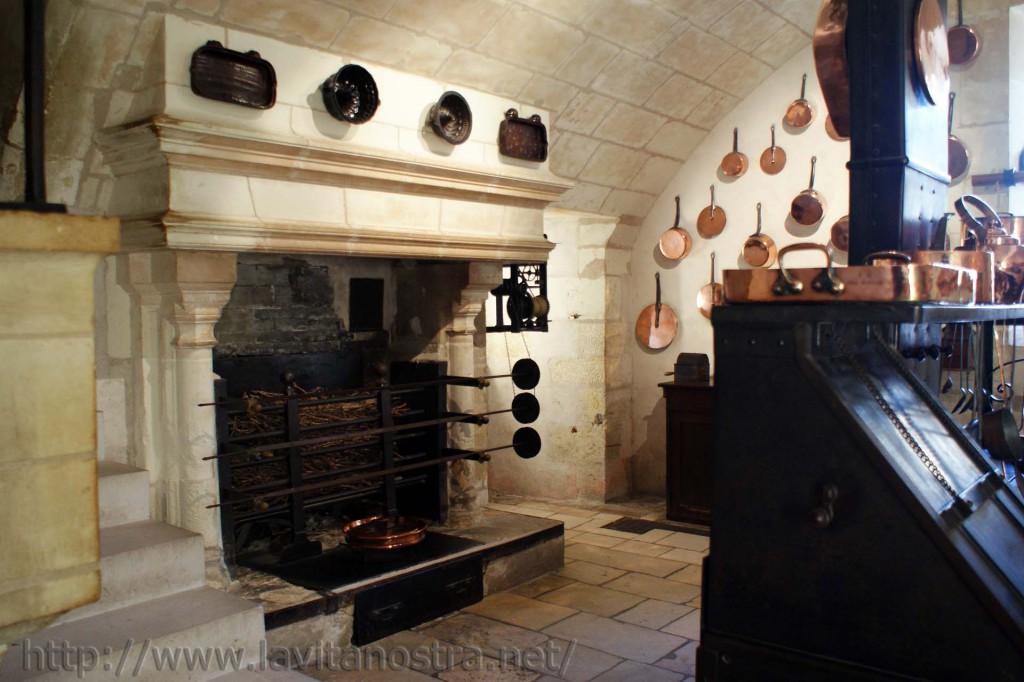 Кухня замка Шенонсо 2