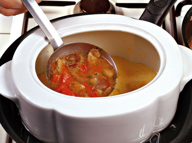 Итальянский суп приготовление 3