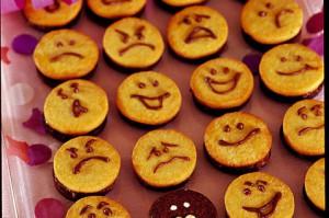 Карнавальное печенье улыбки