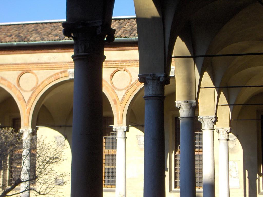 Милан в марте 2