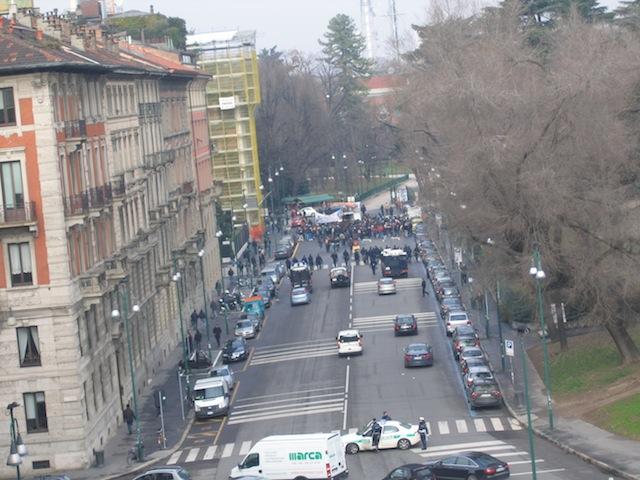 Милан в марте