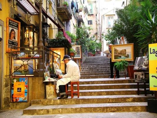 Неаполь в марте 10