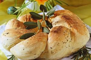 Hleb s rozmarinom