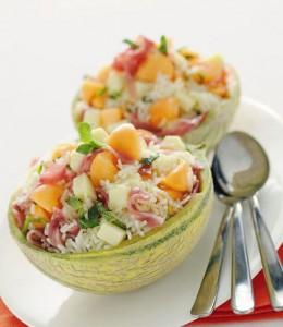 Salat iz risa v dinye