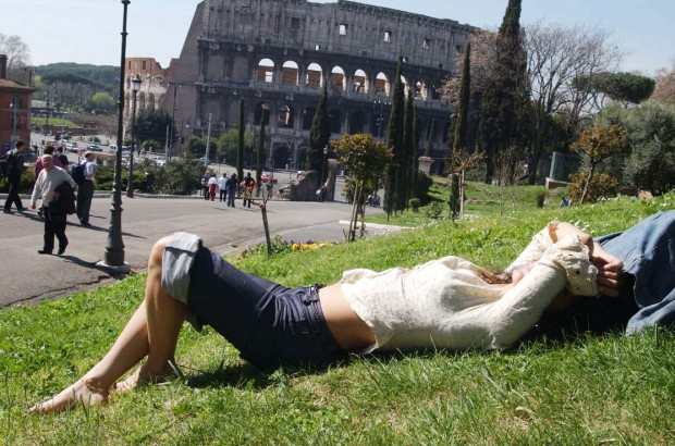 Rim v avguste 1