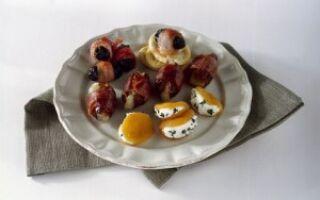 Закуска с сыром в трех вариантах