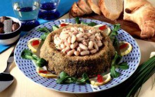 Соленый торт с тунцом и шпинатом