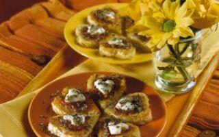 Итальянские закуски – сердечки