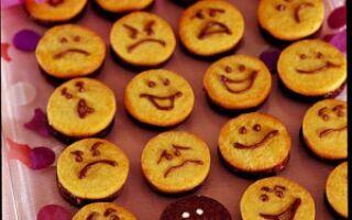 Карнавальное печенье – улыбки