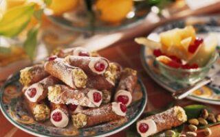 Сицилийский рожок или Cannoli siciliani