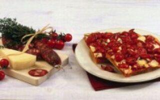 Острая итальянская пицца