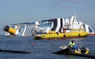Убытки, связанные с кораблекрушением лайнера «Коста Конкордия»