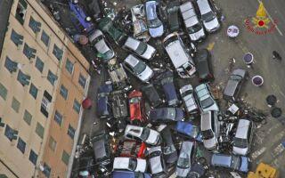 Италия новости на сегодня 05.11.2011. Наводнение в Генуе