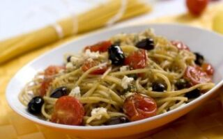 Быстрый рецепт спагетти