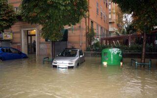 В Генуе опять свирепствует непогода