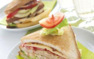 Сэндвич для пляжа