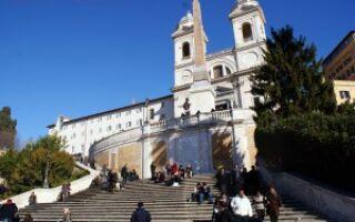 Площади Рима, его церкви и фонтаны
