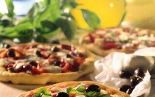 Итальянская классическая пицца с оливками