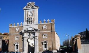 Рим: ворота, фонтаны и площади