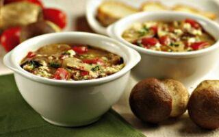 Итальянский суп на скорую руку