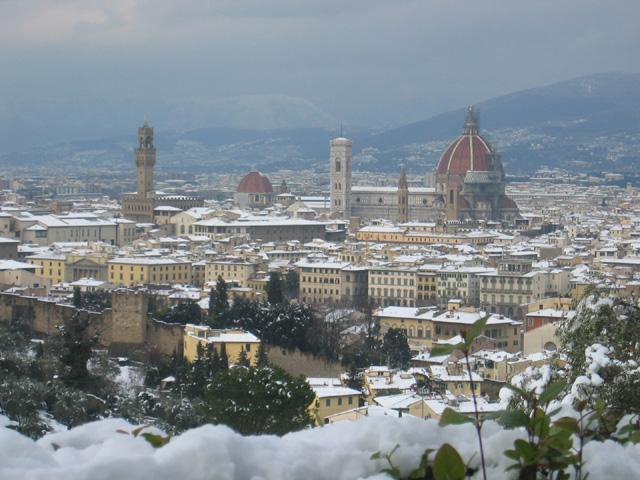 Флоренция в декабре 3