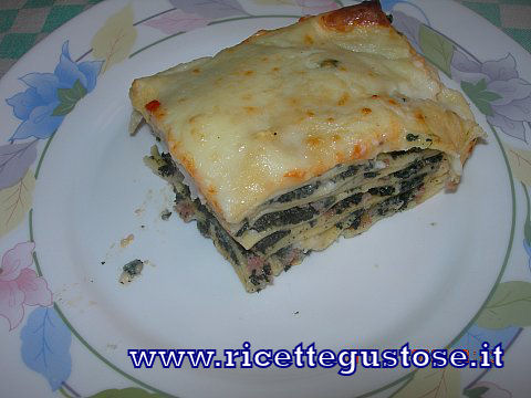 Lasagna all ortica