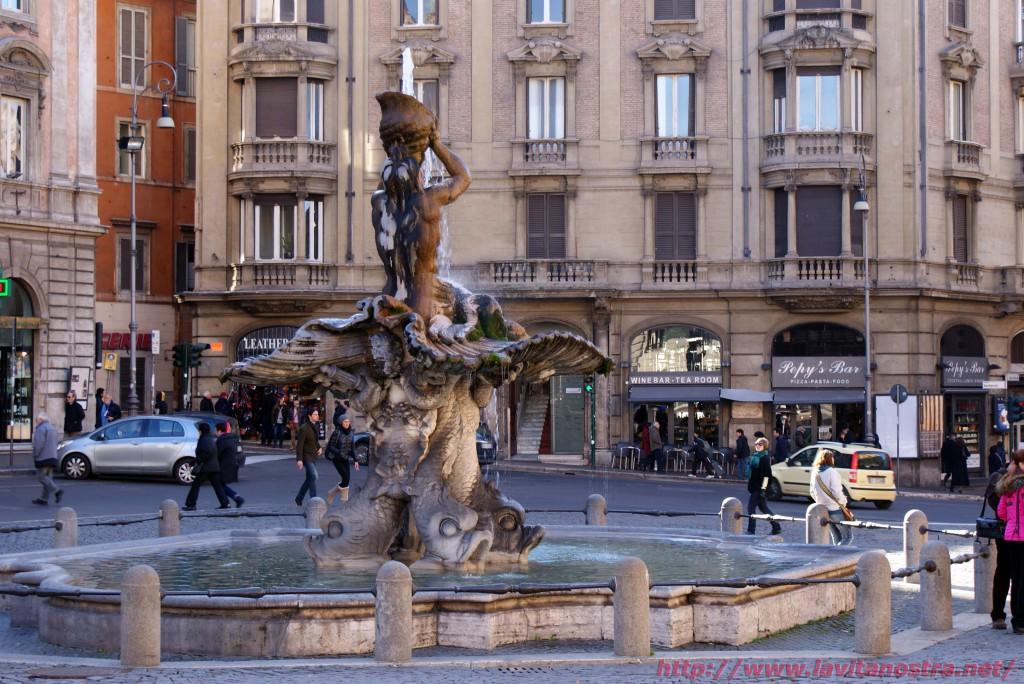 Фонтаны Рима фонтан Тритона