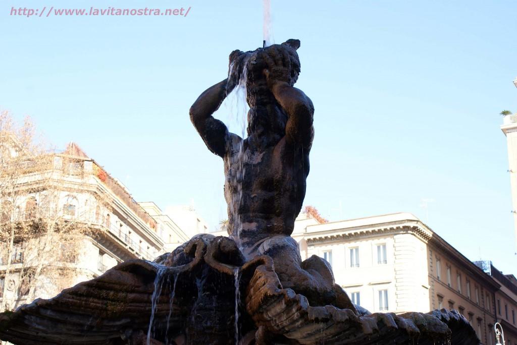 Фонтаны Рима фонтан Тритона 3
