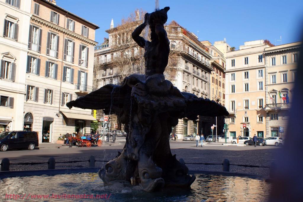 Фонтаны Рима фонтан Тритона 6