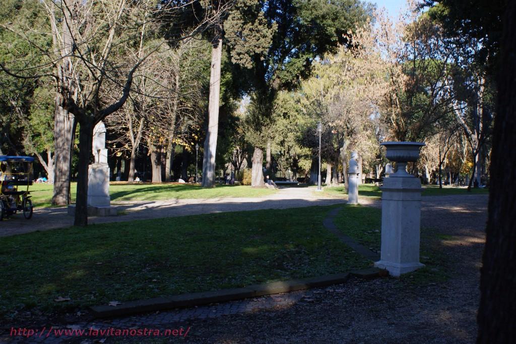 Вилла Медичи парк 4