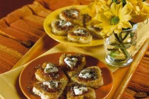 Итальянские закуски - сердечки