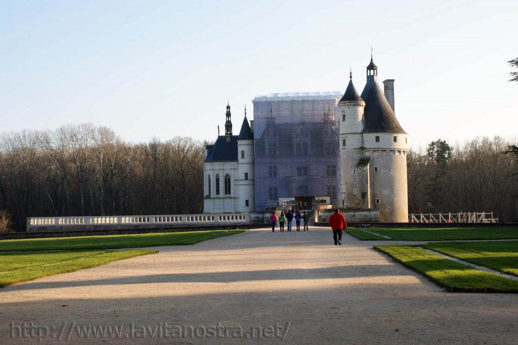 Замок Шенонсо Франция 4