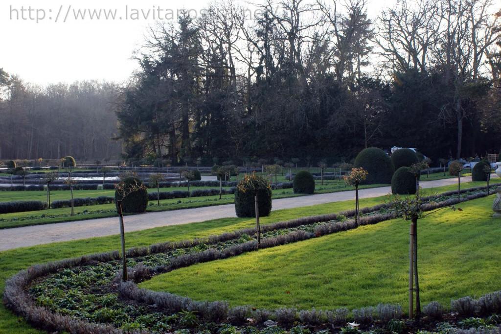 Замок Шенонсо парк Екатерины Медичи 3
