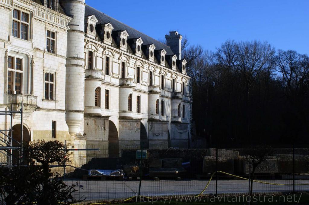 Замок Шенонсо Франция 8