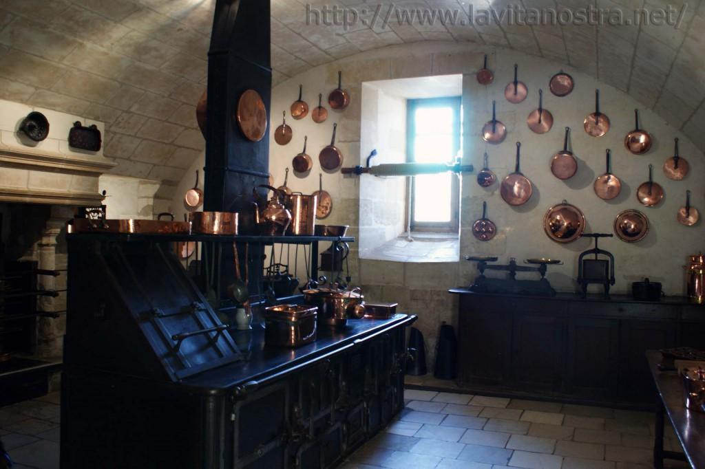 Кухня замка Шенонсо