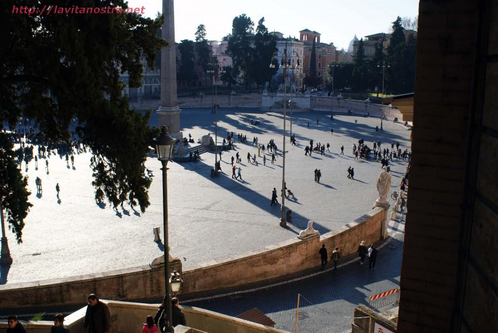 Площадь Пополо в Риме 2