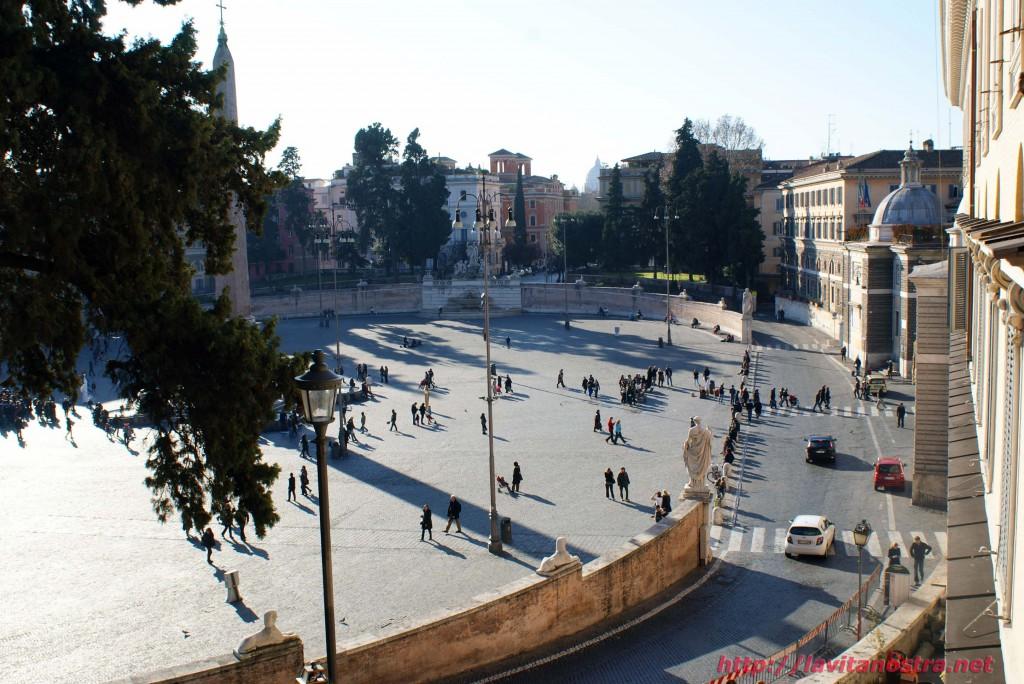 Площадь Пополо в Риме 3